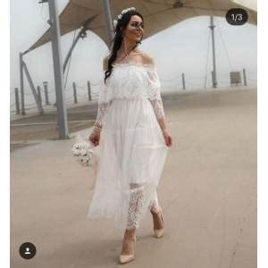 beyaz elbise gittigidiyor
