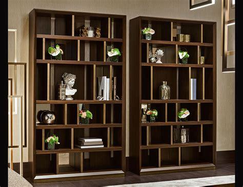 luxury bookshelves nella vetrina magritte luxury italian bookcase in bolivar wood