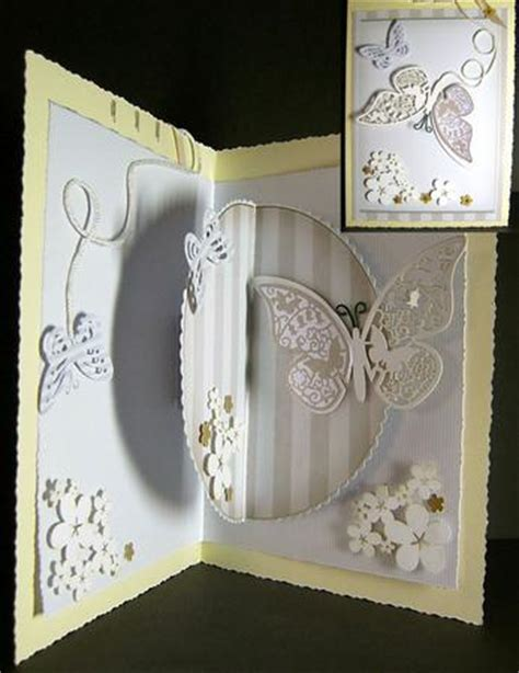 Suspended Pop Up 3d Card Kit Template For Card Makers Card Making 3d Cards Templates