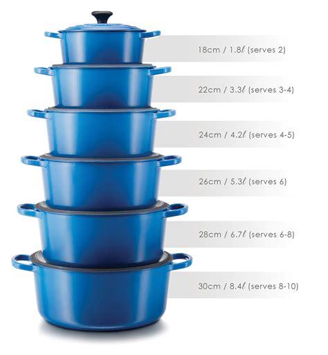 Sauce Pot 22cm C 160022 le creuset le creuset casserole size guide