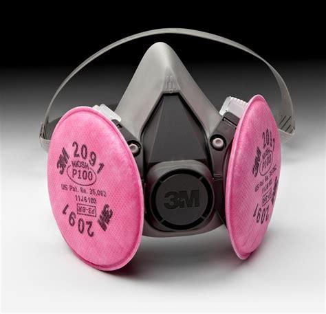 Masker Respirator Half Mask Krisbow Masker Respirator 3m 6200 half mask respirator w 3m 2091 p100 filter cartridge medium free ship ebay