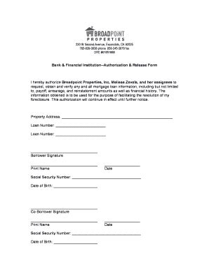 Financial Authorization Letter Sle Financial Authorization Letter Forms And Templates Fillable Printable Sles For Pdf