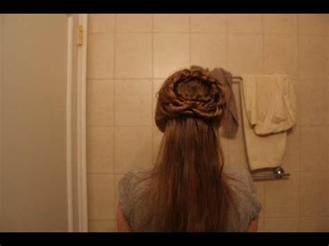 romeo and juliet hairstyles halloween princess series juliet capulet inspired hair youtube