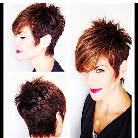 is a pixie haircut cut on the diagonal instagram photo by reneemstylist renee iconosquarefab