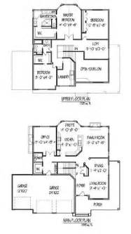 House Plans With 2 Master Bedrooms Downstairs 1000 Images About 2 Story Floor Plan On Pinterest Two
