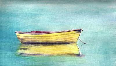 small yellow boat doris glovier studio