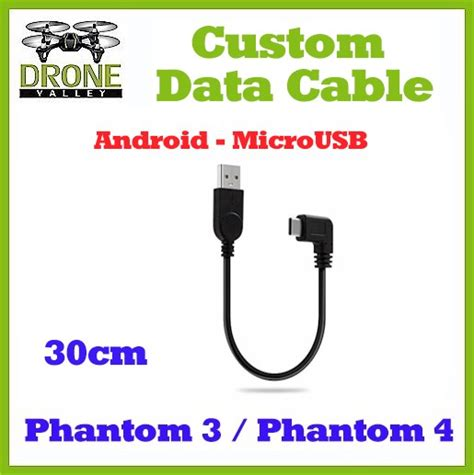 Vivan Ccm30 30cm Micro Data Cable For Android Colorful 1 dji phantom 3 4 custom microusb cable 30cm for android devices
