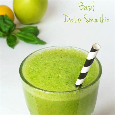 Basil Detox basil detox smoothie