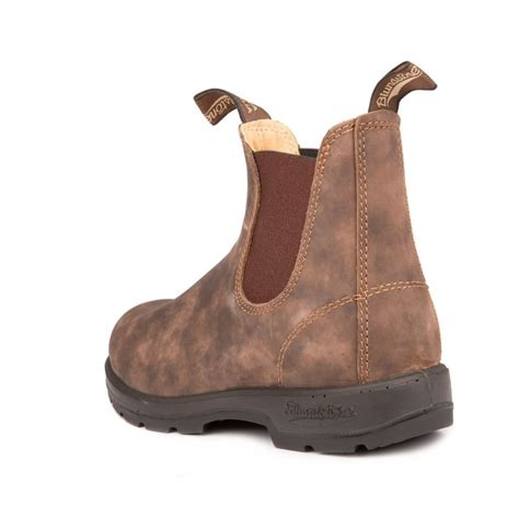 blundstone boots blundstone blundstone 585 chelsea leather rustic brown