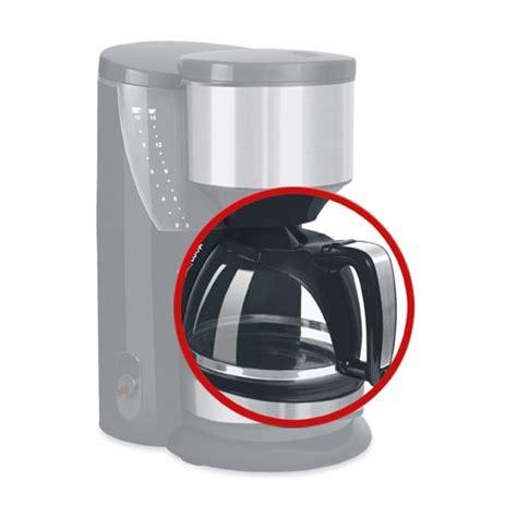 Kaffeemaschine Glaskanne Kaputt by Ersatzkanne F 252 R Melitta Look Motion M 623 Kaffeemaschine