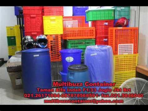 Keranjang Plastik Besar drum container