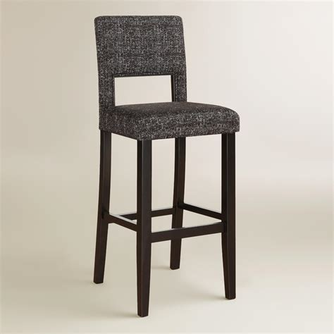 Gray Counter Stool by Gray Tweed Bret Bar Stool World Market
