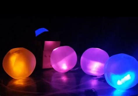 glow beach balls  glow stick insert glow games