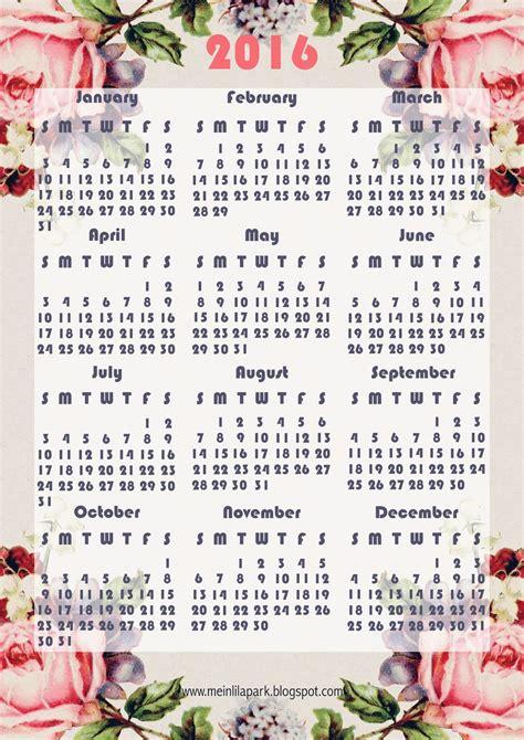 printable calendar vintage roses free printable 2016 rose calendar ausdruckbarer kalender
