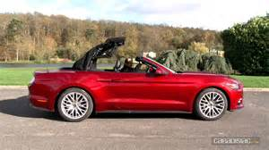 Ford Cabriolet Essai Ford Mustang Cabriolet