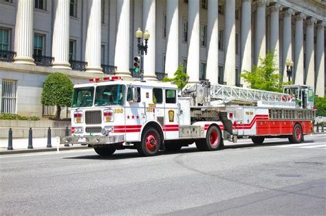 truck washington dc washington dc ladder firetruck editorial photo image