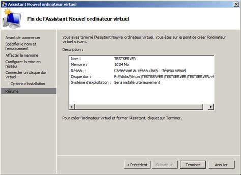 Hyper V Resumes by Toutwindows Windows Server 2008 R2 Gestion Des