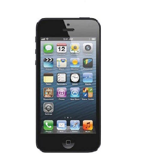 iphone  gb black mobile phones    prices snapdeal india