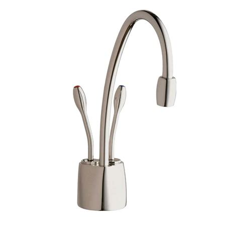 Water Dispenser Faucet insinkerator indulge contemporary 2 handle instant and cold water dispenser faucet in
