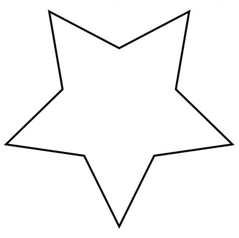 printable star clip art star outline clipart free stock photo public domain pictures