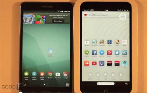 Samsung Tab 4 Nook samsung galaxy tab 4 nook vs nook hd