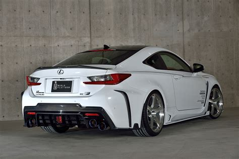 lexus japan lexus rc f tuned by rowen japan with carbon parts and