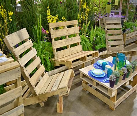 patio furniture out of pallets outdoor furniture out of pallets wood pallet ideas