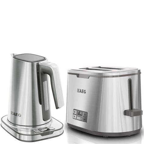 Breville Toasters Aeg Series 7 Toaster And Kettle Bundle Stainless Steel