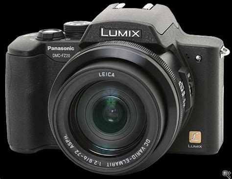 panasonic lumix dmc fz20 review: digital photography review