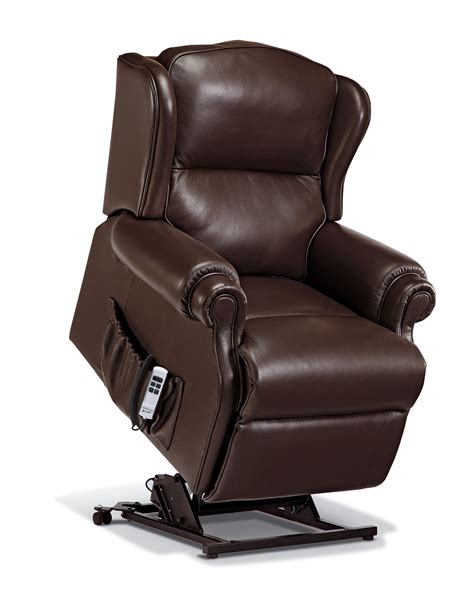 Small Leather Recliner Claremont Small Leather Lift Rise Recliner Sherborne