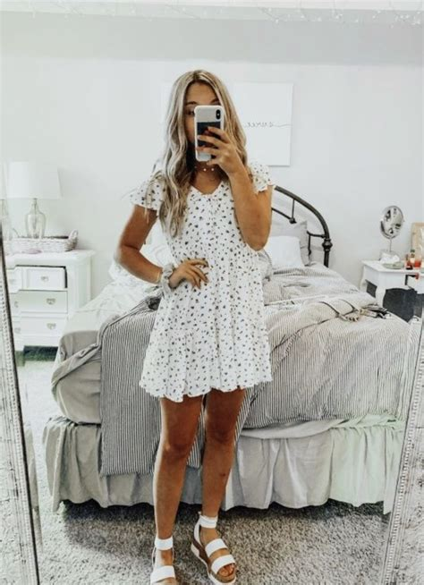 vsco girl outfit consists   dress interested