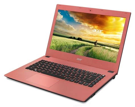 Laptop Acer Aspire E14 E5 473 acer aspire e14 coral pink e5 473 38wb nx mxmec 001