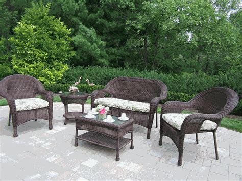 wicker patio furniture clearance white resin table and chairs images patio table and