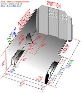 Ford Cargo Dimensions Ford Size Cargo Dimension