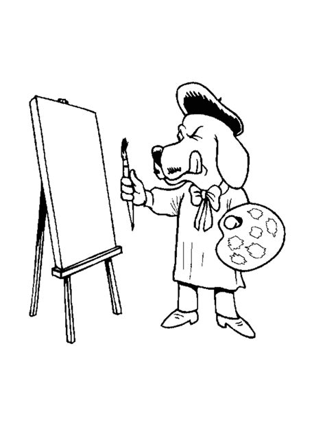 dog with a blog coloring pages coloring home