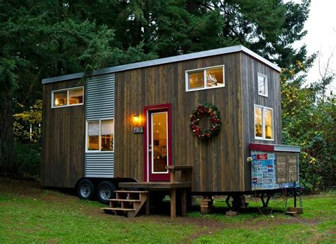 mini house tiny house town rustic diy tiny house in oregon 144 sq ft