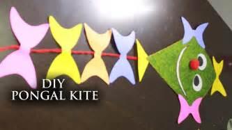 new year kite craft diy pongal kite decorator useful crafts with waste