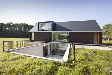 Slab On Grade Floor Plans by Dise 241 O De Casa Moderna De Una Planta Construye Hogar