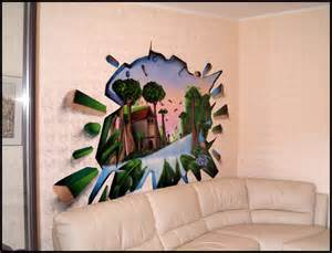 Sticker For Wall Decoration graff trompe l oeil italie decograffik deco graff