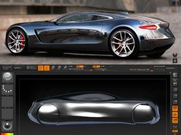 zbrush tutorial car sculpting a sportscar in zbrush 4r6 car body design