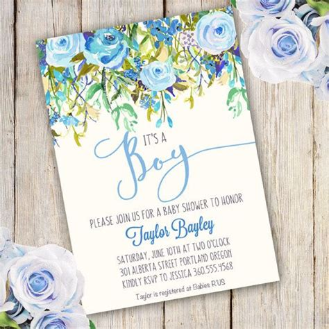 Baby Boy Shower Templates Invitations by Best 25 Baby Boy Shower Invitations Ideas On