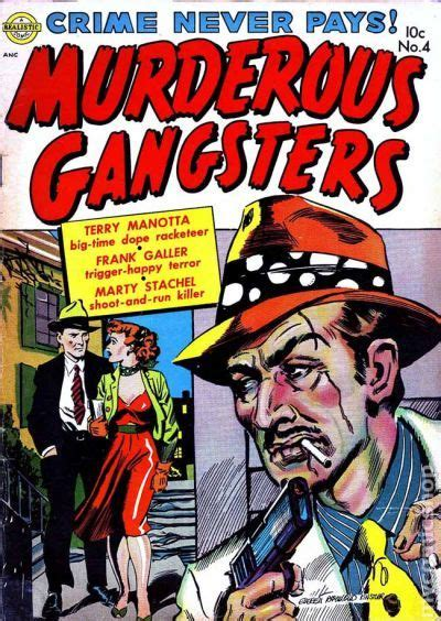 murderous gangsters  comic books