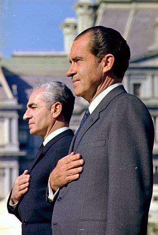 file:the shah of iran and president nixon nara 194301