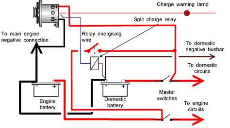 split charge relay wiring diagram efcaviation