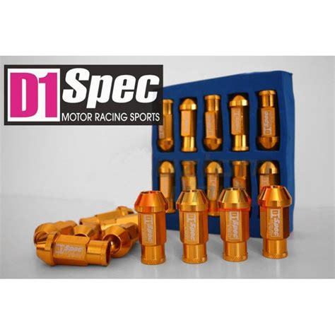 Racing Lug Nut D1 Spec Japan Original Toyota New d1 spec original lug nuts jdm performance