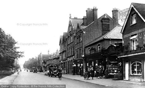 tattoo london road camberley photo of camberley london road 1925 francis frith