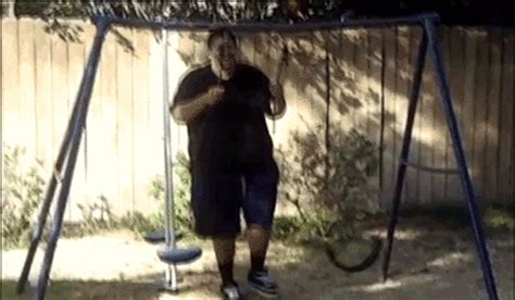 swing set fail definitely saw that coming 14 gifs thechive