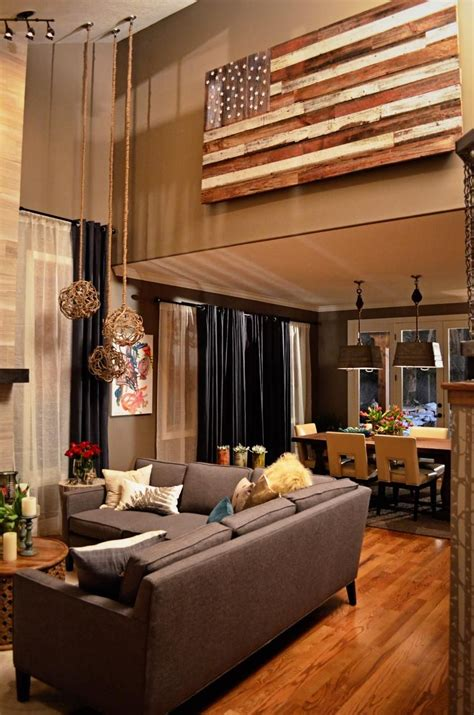 decorate high ceilings   home barn wood