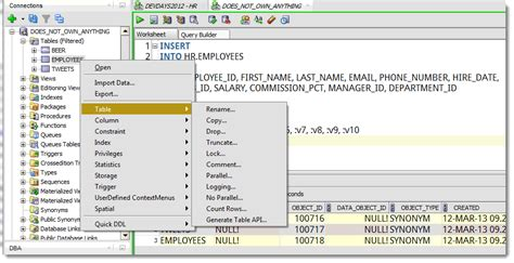 Oracle List Tables by Why Can T I See Tables In Oracle Sql Developer Thatjeffsmith