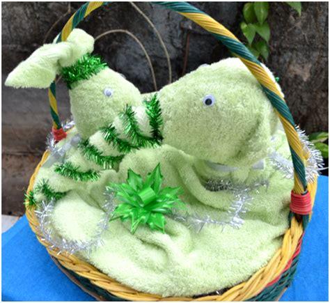 Handuk Untuk Seserahan gajah dan kelinci